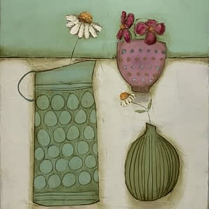 Daisy Jug, Little Cup and Vase