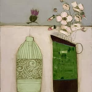 Wildflowers and the Big Green Jug