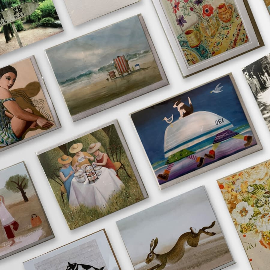 The Store - Art Greeting Cards